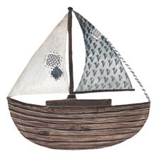 That's Mine Wall Stories Wooden Sailboat