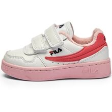 Fila Arcade Velcro Infants White Coral Blush