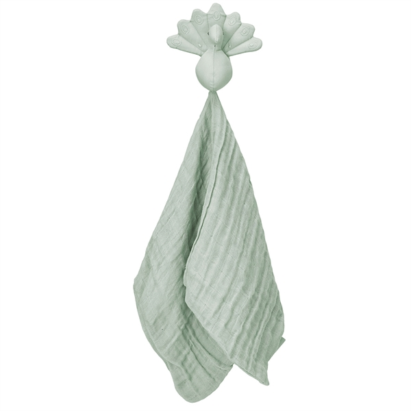 Cam Cam Påfågel Cuddle Cloth Dusty Green