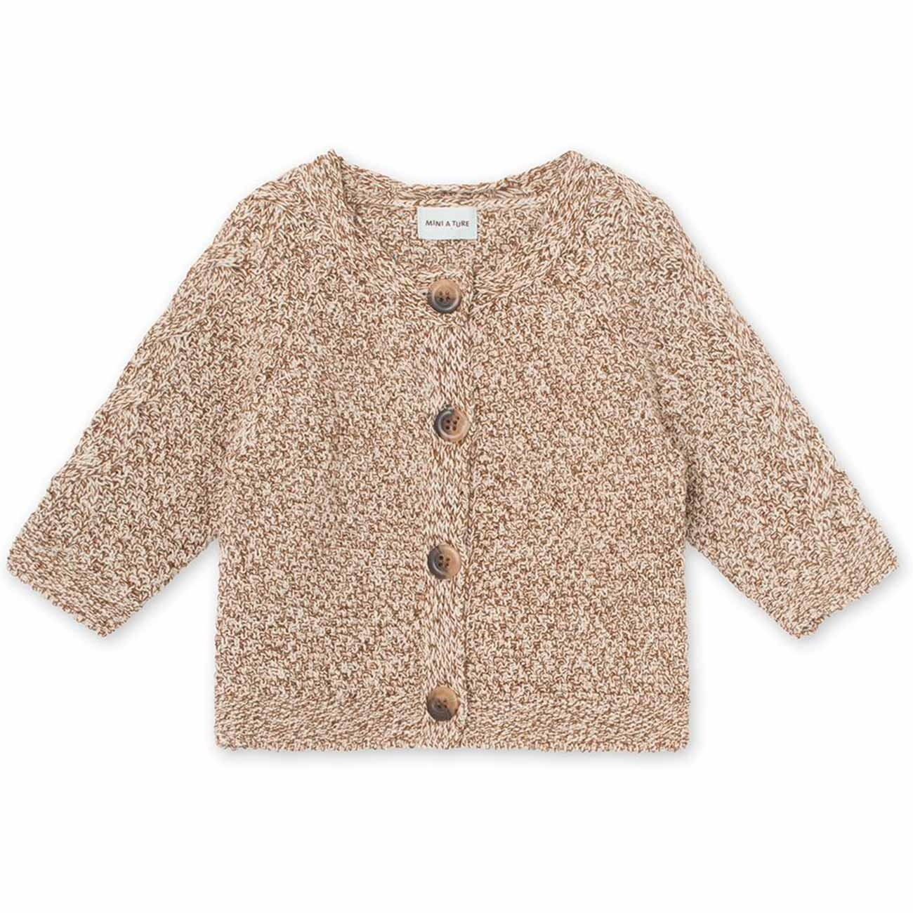 Mini A Ture Deni Wood Cardigan