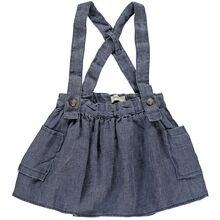 Lil'Atelier Medium Blue Denim Gusty Kjol