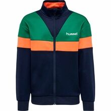 Hummel Ultramarine Green Kentaro Zip Cardigan