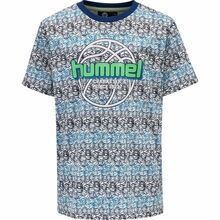 Hummel Estate Blue Heat T-shirt