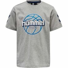 Hummel Grey Melange Shocker T-Shirt