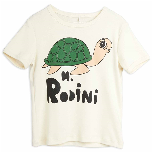 Mini Rodini Turtle Offwhite T-shirt