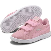 Puma Smash V2 Glitz GlamV PS Pale Pink Sneakers