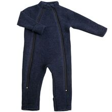 Joha Wool Blue Full Overall 2 in 1