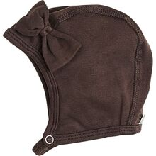 Racing Kids Baby Hat Bow Brown