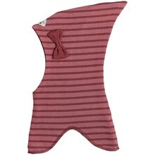 Racing Kids Elephant Hat Top Bow Stripe Forest Berries / Ljusrosa