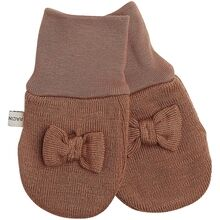 Racing Kids Glove Baby Bow Hazelnut