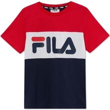 Fila Thea Bianco Black Iris True Red Bright White Tee