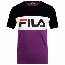 Fila Marina Sparkling Grape Black Iris Bright White T-shirt