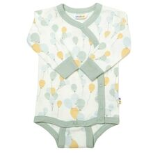 Joha Bamboo Light Green AOP Body Wrap