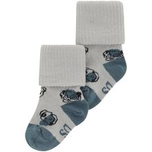 Soft Gallery Abyss AOP Doggy Baby Socks