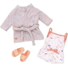 Our Generation Dollwear - Pyjamas with. Bathrobe