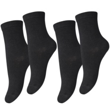MP 7971 Viscose/Bamboo Plain 08 Black 2-Pack
