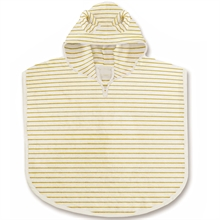 Konges Sløjd Terry Badponcho Striped Sunflower
