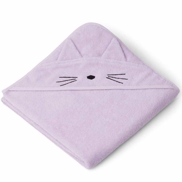 Liewood Augusta Handduk Cat Light Lavender