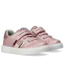 Tommy Hilfiger Low Cut Lace-Up/Velcro Sneakers Pink