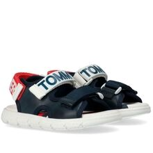 Tommy Hilfiger Velcro Sandal Blue/White/Red