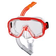 BECO Bahia Snorkling Set Red