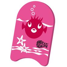 BECO Sealife Kick Board Pink
