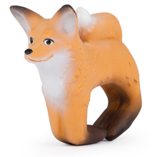 Oli & Carol Bracelet in Nature Rubber Rob the Fox