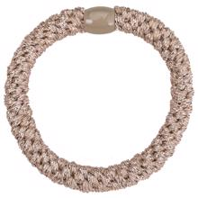 Bow's by Stær Braided Hairties Beige Metallic