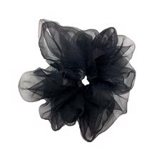Bow's by Stær Naja Petit Scrunchie Black
