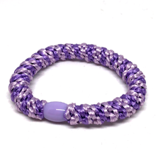 Bow's by Stær Braided Hairties Multi Purple