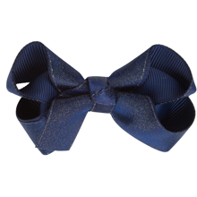 Bow's by Stær Satin Sløjfe Navy