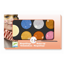 Djeco Maquillage Palette 6 Colours Metallic