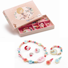Djeco Jewellery Set Summer Garden Jewellery