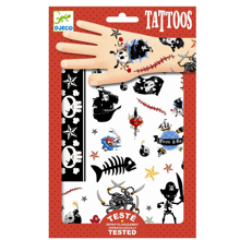 Djeco Tattoos Pirates