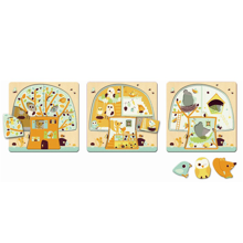 Djeco 3 Layers Puzzle Chez Nut Tree House
