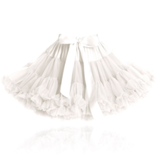 Dolly by Le Petit Tom Skirt Off White