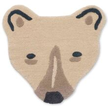 Ferm Living Polar Bear Head Floor / Wall Rug
