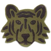 Ferm Living Tiger Head Floor / Wall Rug