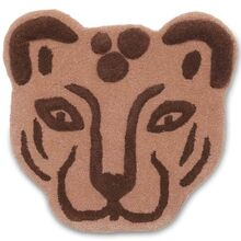 Ferm Living Leopard Head Floor / Wall Rug