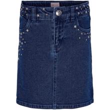 Kids ONLY Medium Blå Denim Dina Star Studd Kjol