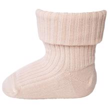 MP 589 Wool Socks Rib 201 Rose