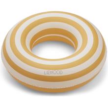 Liewood Baloo Swim Ring Stripe Yellow/Creme