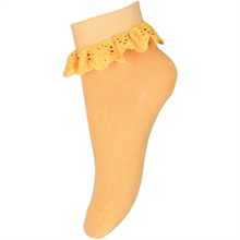 MP 527 Cotton Lace Socks 4098 Ochre