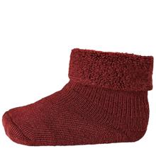 MP 722 Wool Terry Strumpor 1005 Bordeaux
