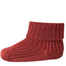 MP 589 Wool Socks Rib 4195 Bordeaux