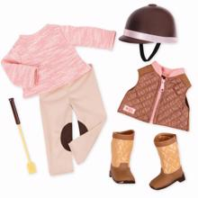 Our Generation Deluxe Dollwear - Riding Set