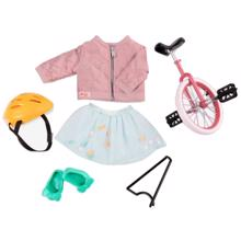 Our Generation Doll Clothes Deluxe - One Wheel Bike