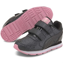 Puma Vista Glitz V Black/Pale Pink Sneakers
