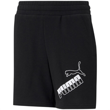 Puma Amplified Big Logo Shorts Black