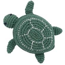 Sebra Knitted Rattle Triton the Turtle